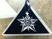 SWAROVSKI Glass/Pottery 2001 CHRISTMAS ORNAMENT